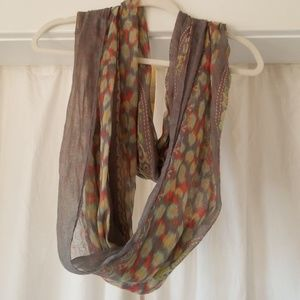 Buckle Accessories - Mint, grey, yellow, pink  Infinity scarf